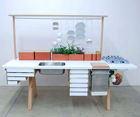 Plugless Eco-Kitchens