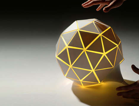 Growing Lamps - The Lampad'air Lamp Balloons with Brightness