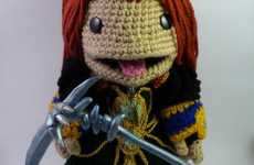 Knitted Gamer Creatures - Maggie Wang Crochets Adorable Amigurumi Dolls