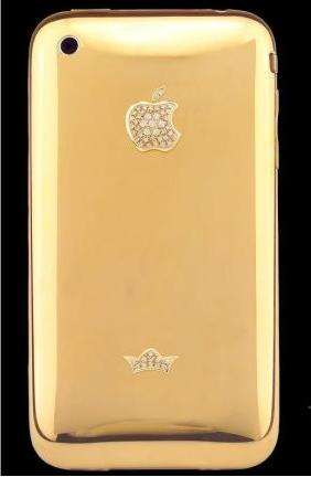 24 Carat iPhone Cases - Sayn Design Creates Limited Diamond Deluxe Gold Edition Sleeves