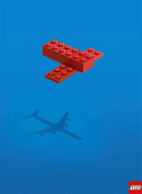 LEGO Shows Big Creativity with Small and Basic Shapes