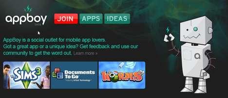 Social Media for Mobile Apps