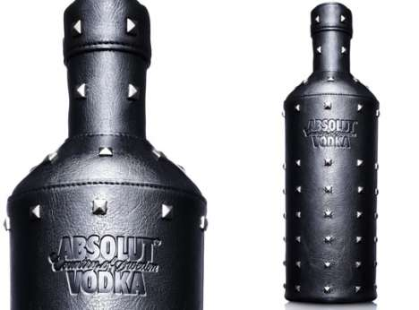 Biker Booze - Absolut Vodka Launches Rock Edition to Celebrate Rock & Roll