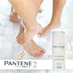 Naughty Fake Marketing - Satirical Pantene Promo Pushes Jimmy-Lubricating Shampoo
