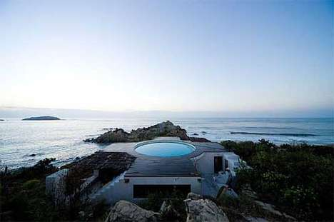 Dramatic Rooftop Pools - Universe Beach House Centers On Swimming & Spectacular Views