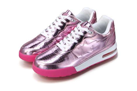 Foil-Infused Sneakers