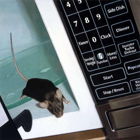 Realistic Rat Art