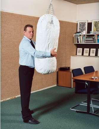 Stress-Busting Punching Bags