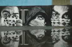 Graffiti Portrait Paintings - Photo Realistic Art that is Shrouded in Mystery