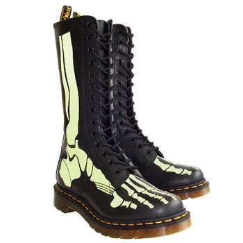 Doc Marten Releases 'The Skelly' Combat Boot