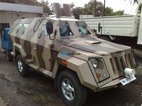 Hummer-Tank Hybrids - Is the Mahindra Marksman a Tank or a Hummer?
