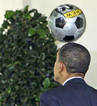 Presidential Athletic Prowess