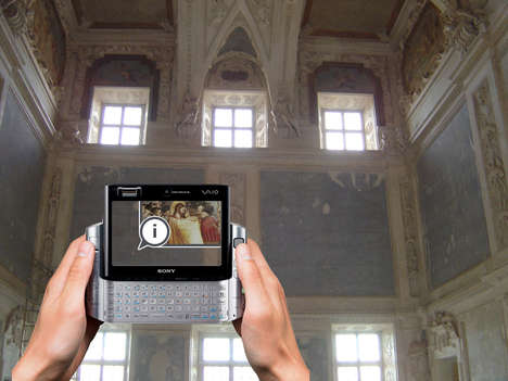 Time-Traveling Tourism - iTacitus' Augmented Reality Turns Phones Into Time Machines
