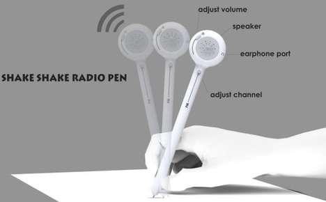 Kinetic Radio Pens