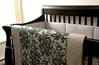 Chic Baby Bedding - Lavish Lamb's Modern Prints Class Up Any Child's Room