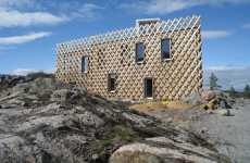 Latticed Architecture - The Eco Triangle Garden House by Tham & Videgard Hansson
