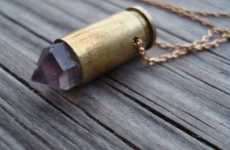 12 Ammo Loving Fashions - From Bullet Case Accessories to Jewelry for Gunslingers