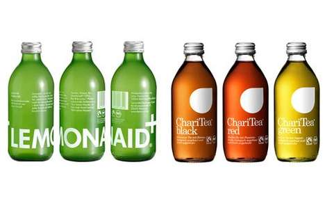 Social Cause Beverages - LemonAid and ChariTea Drinks are Deliciously Charitable