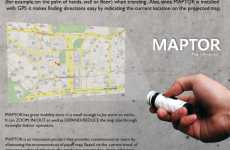 Projecting Maps