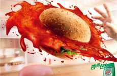 Food-Fighting Ads - Saatchi & Saatchi in China's Clever Laundry Detergent Campaign