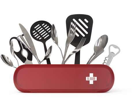 12 Vibrant Pocket Knives
