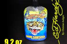 Designer Hand Sanitizer - Ed Hardy Wants to Keep You Germ Free and Tacky