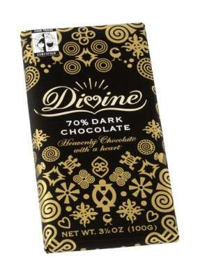 Eco-Friendly Designer Chocolate - Divine Chocolate in Ghana Makes Sweet Fair Trade Treats