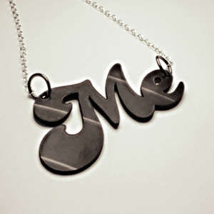 Personalized Record Jewelry - Junkprints' Recycled Vinyl Necklaces Honor Retro Music