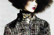Afro Editorials - Karlie Kloss Wears Super-Sized Hair for September Vogue