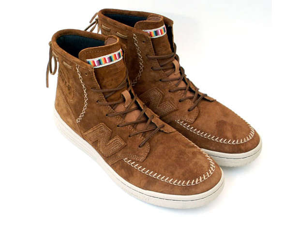 Moccasin Basketball Shoes