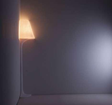Corner-Hugging Lighting