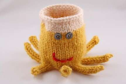Knit Coffee Holders