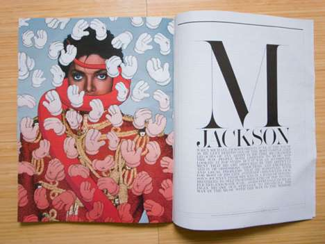Michael Jackson Artvertorials