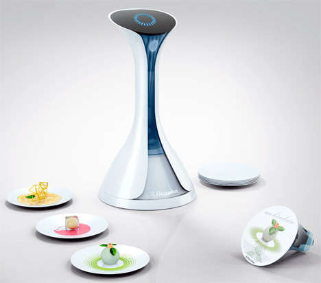 3D Food Printers - Nico Klaber's 'Moleculaire' Makes Cooking a Push-Button Project