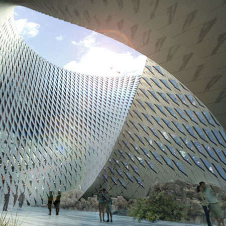 Futuristic Looped Libraries