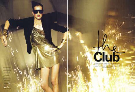 Party Fashion Editorials