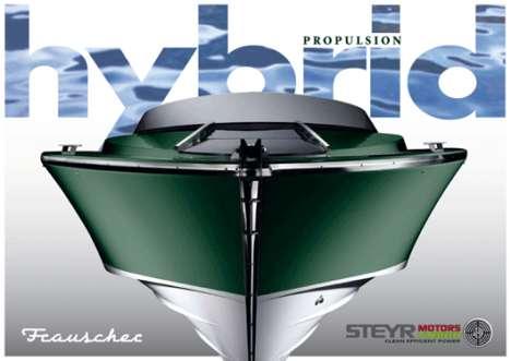Luxury Hybrid Yachts