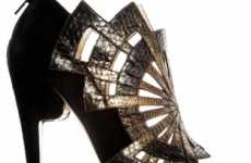 Chiseled Heels - Nicholas Kirkwood's A/W Shoes are Artwork for Your Footsies