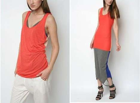 Convertible Colorblock Tanks