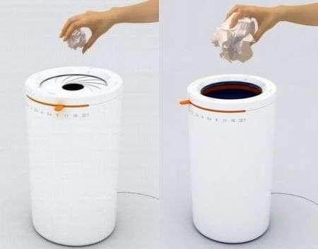 Intelligent Trash Cans