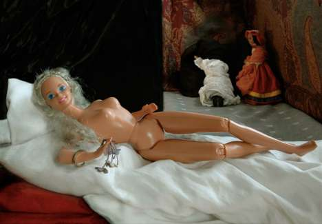Barbie Masterpieces - Kristyna Milde Recreates Famous Paintings with Posed Dolls