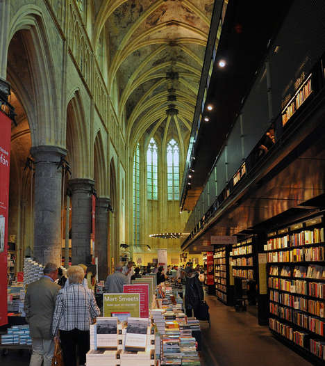 Converted Church Bookstores