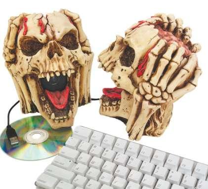 Macabre Multimedia Gadgets