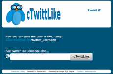 Twitter Emulators - CtwittLIKE Lets You Step Into Someone Else's (Virtual) Shoes
