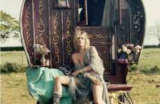 Gypsy Editorials - 'Kate & the Gypsies' for V Magazine #61 is Bohemian Beautiful