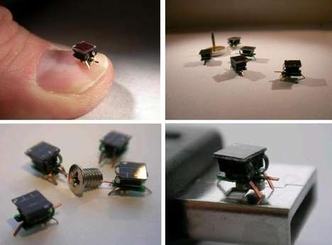 Flea-Sized Robots - Researchers Create Tiny Robots for Mass Production
