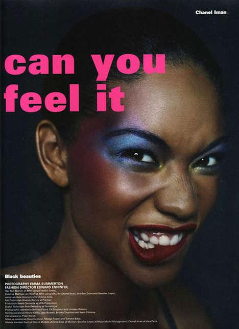 Technicolor Makeup