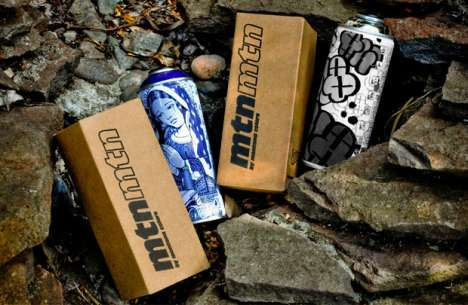 Collectible Graffiti Cans
