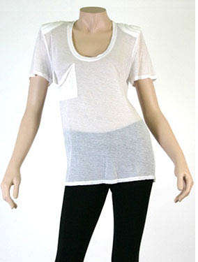 T-Shirts With Shoulder Pads