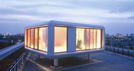 Cube Living - Werner Aisslinger Makes Mobile Living Stylish with the Loftcube